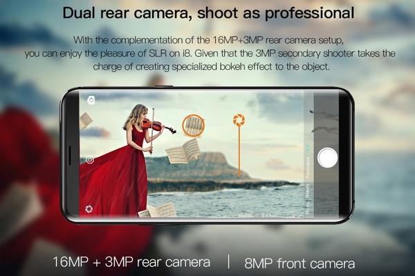 Uhans i8 kamera