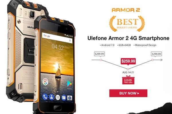 Ulefone Armor 2 akció