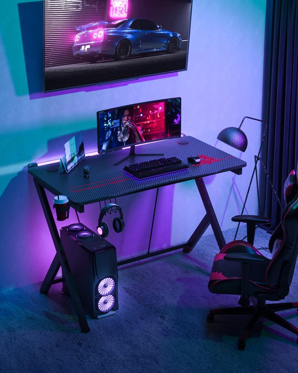 Blitzwolf BW-GD1 gamer asztal
