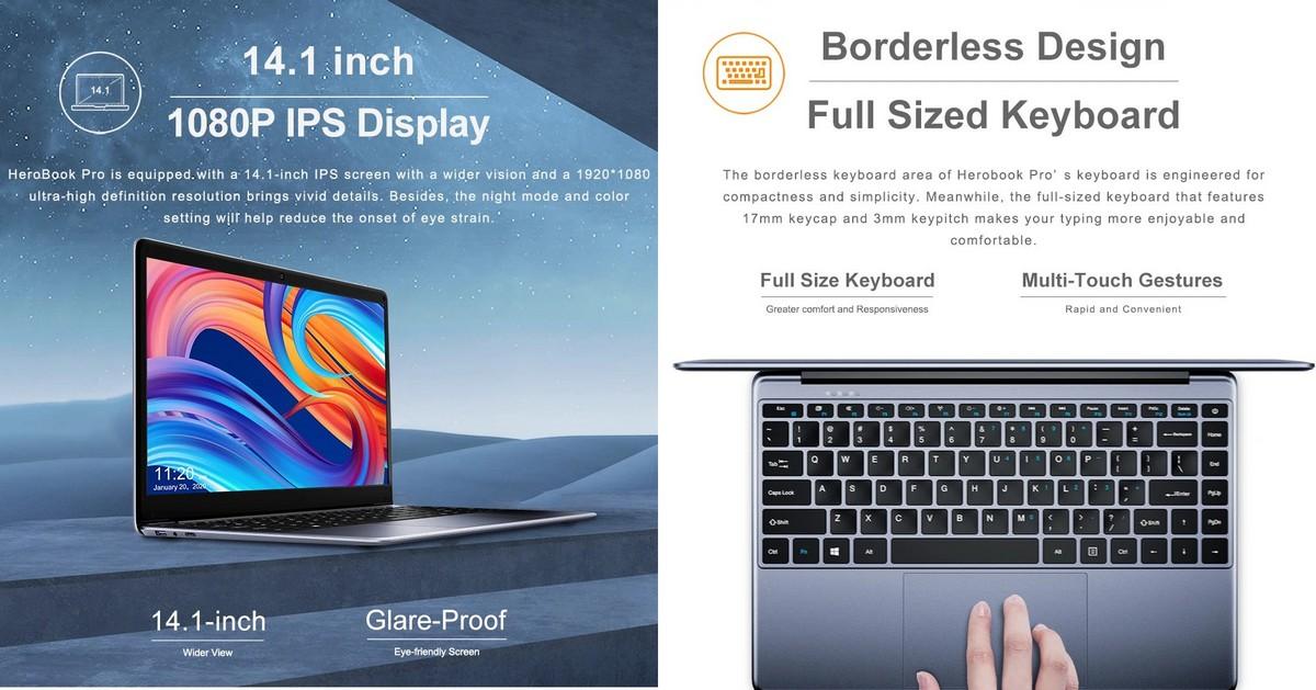 Chuwi HeroBook Pro