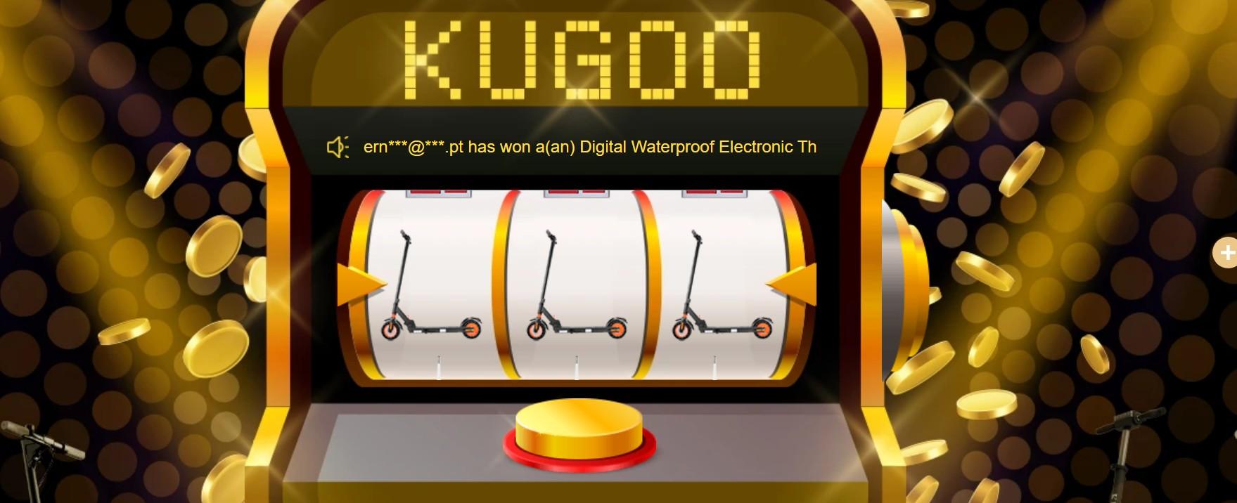 Lucky Draw - KUGOO születésnapi akció