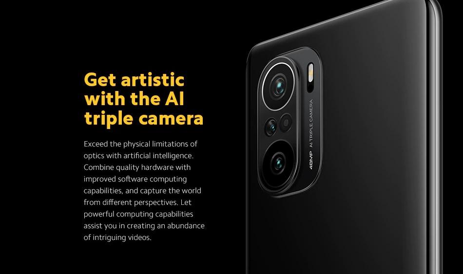POCO F3 - Kamera