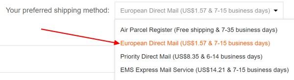 Banggood European Direct Mail
