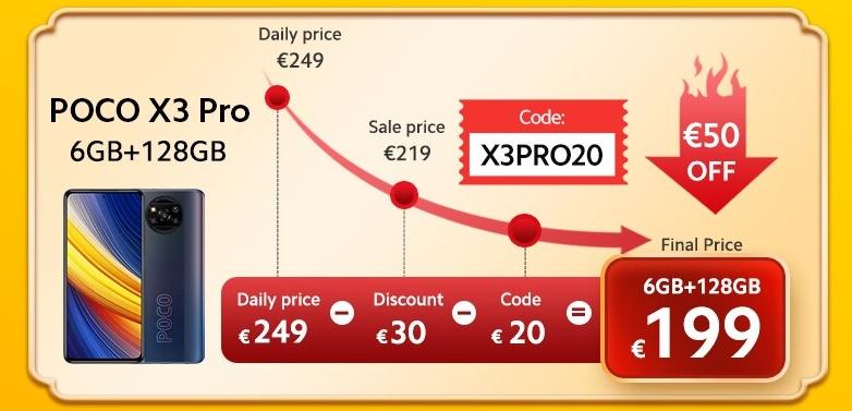 POCO X3 Pro akció