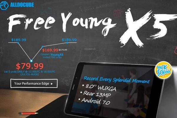 Cube Free Young X5 akció