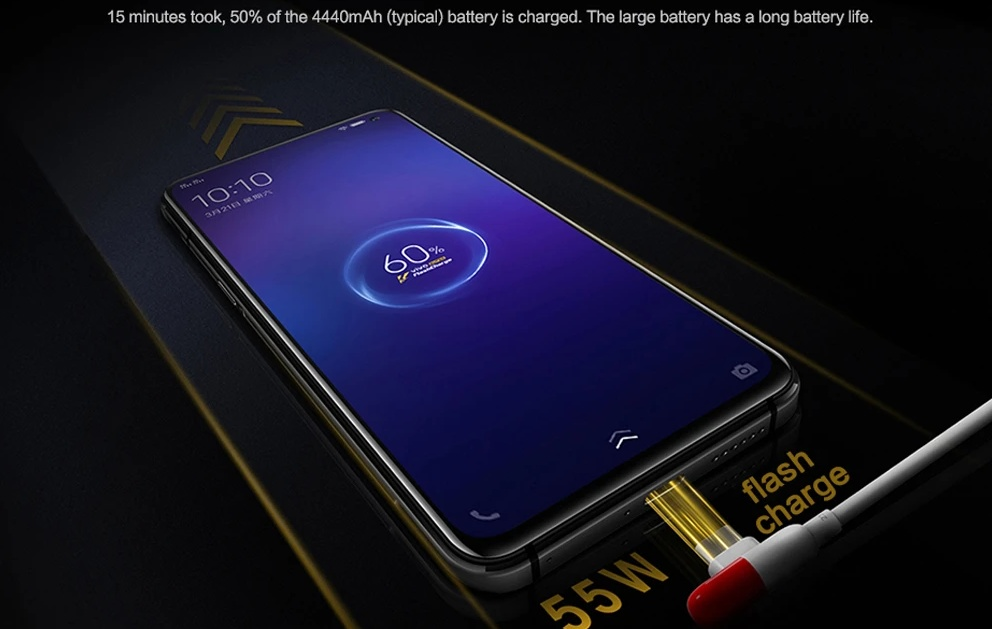 Vivo IQOO 3 - 55W SuperFlash Charge