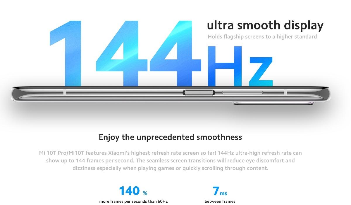 Xiaomi Mi 10T - 144 Hz