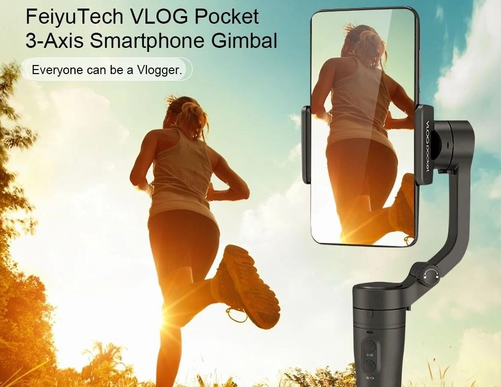 Vlog Pocket - kézi stabilizátor