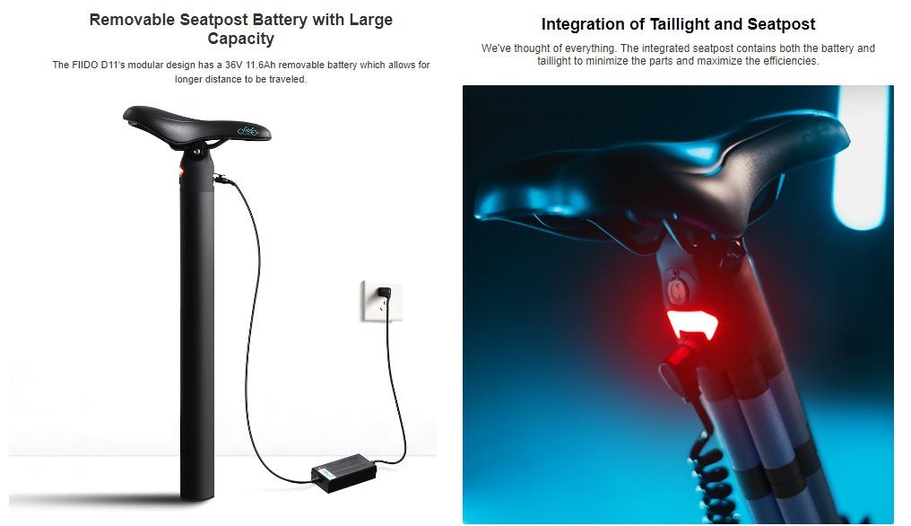 Fiidoo D11 - elektromos kerékpár