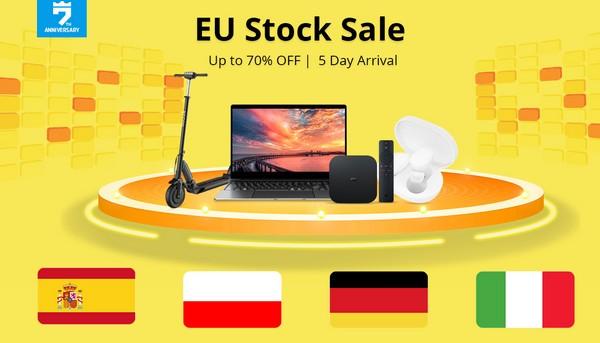 GeekBuying EU raktáras akciók