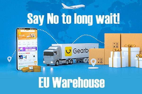 GearBest EU raktár