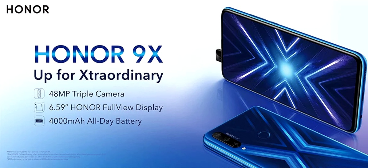 Huawei Honor 9X - akció