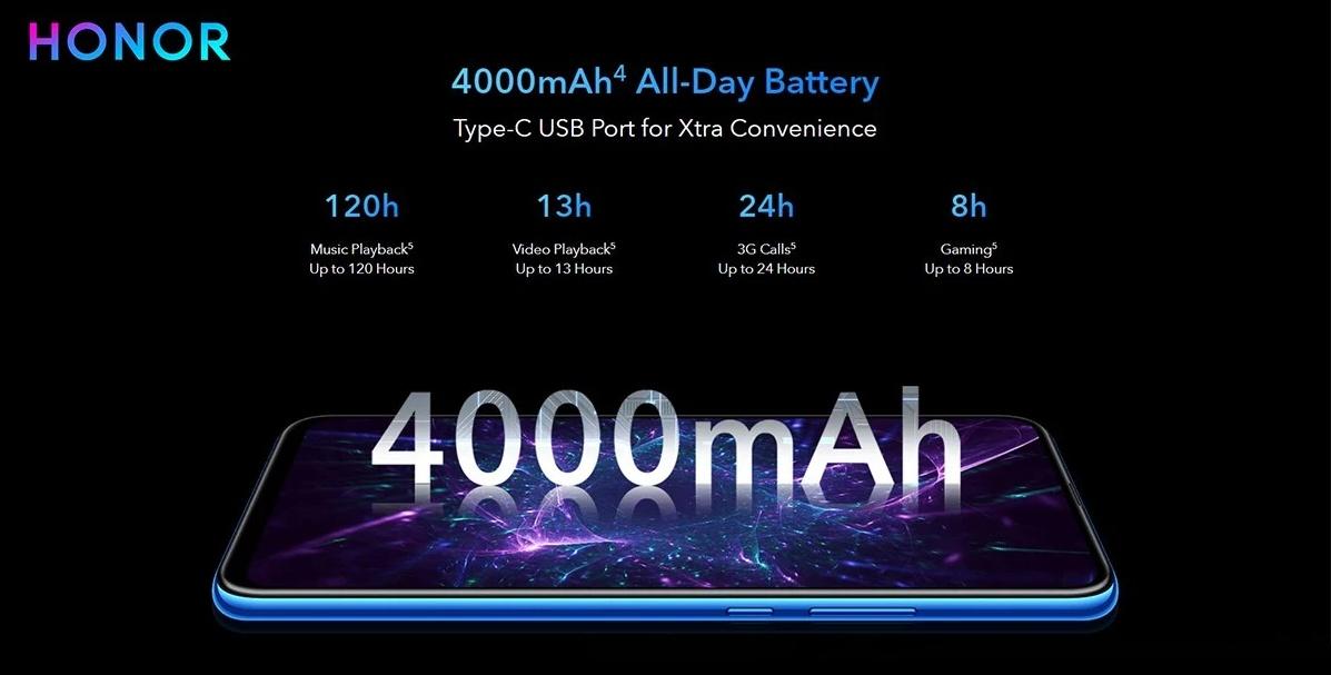 Huawei Honor 9X - akkumulátor