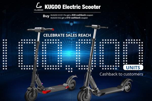 Jubileumi KUGOO elektromos roller akció