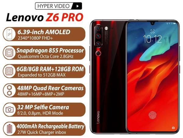 Lenovo Z6 Pro tulajdonságok