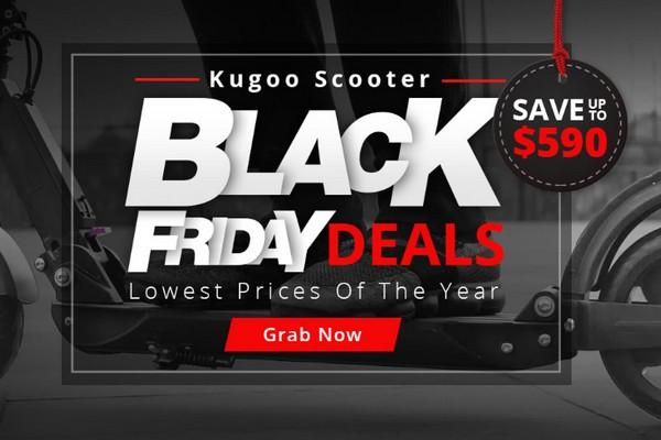 KUGOO Black Friday akció