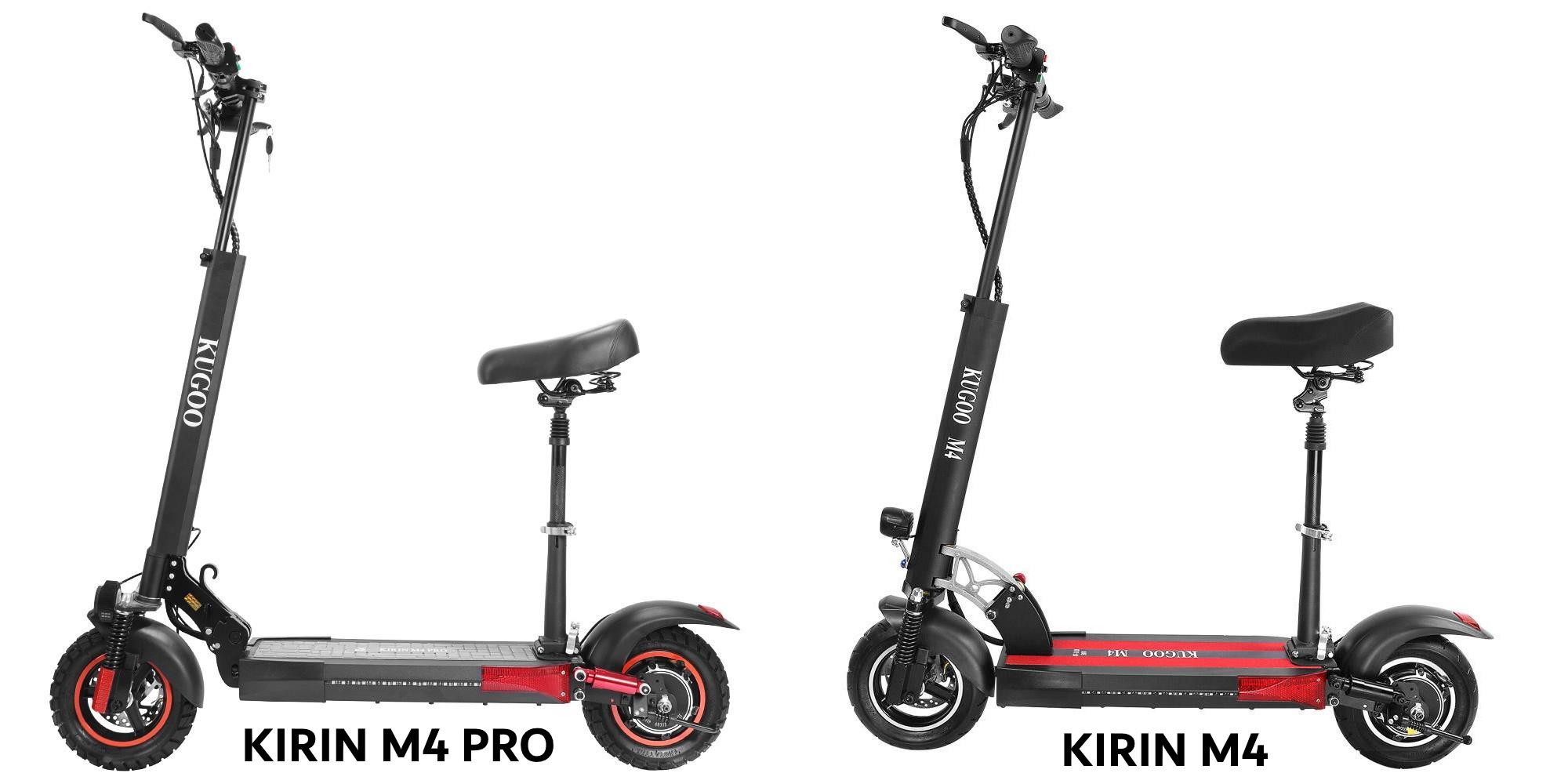 KUGOO KIRIN M4 vs M4 Pro