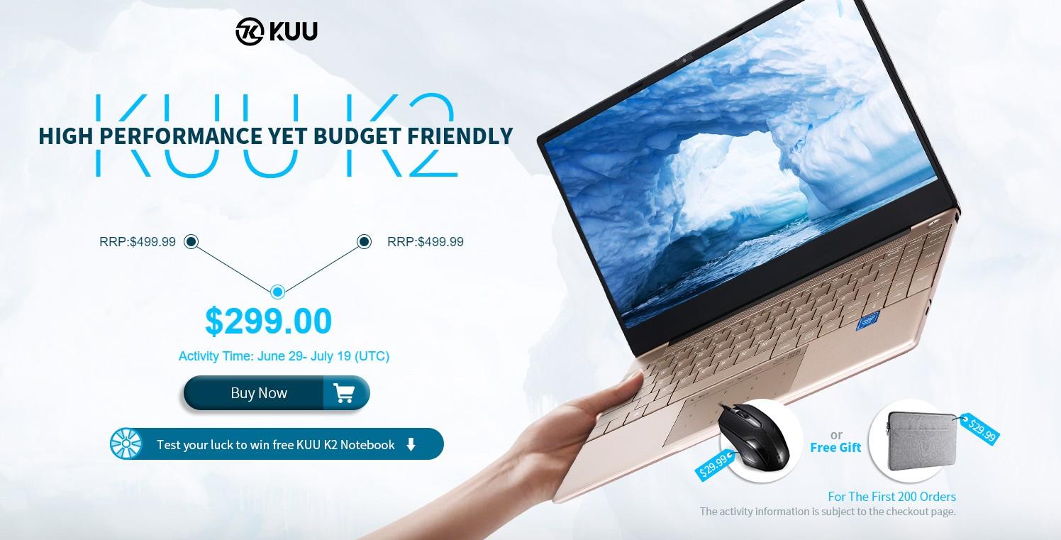 KUU K2 notebook