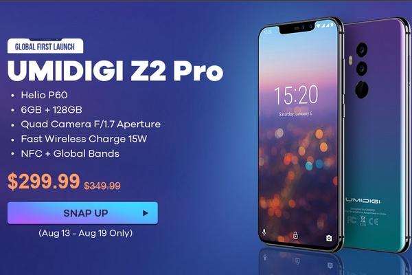 UMiDigi Z2 Pro akció