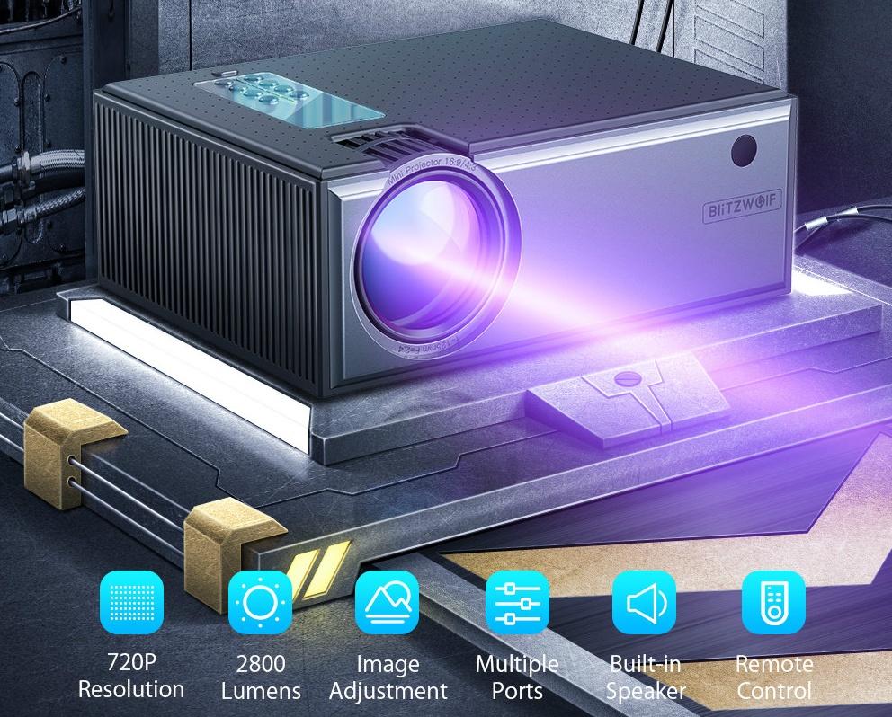 Blitzwolf BW-VP1 projektor