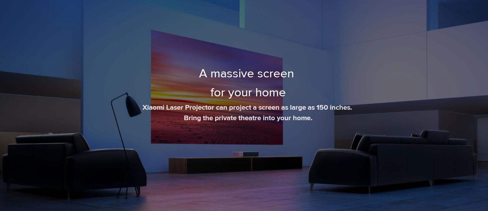 Xiaomi Mijia Laser projektor