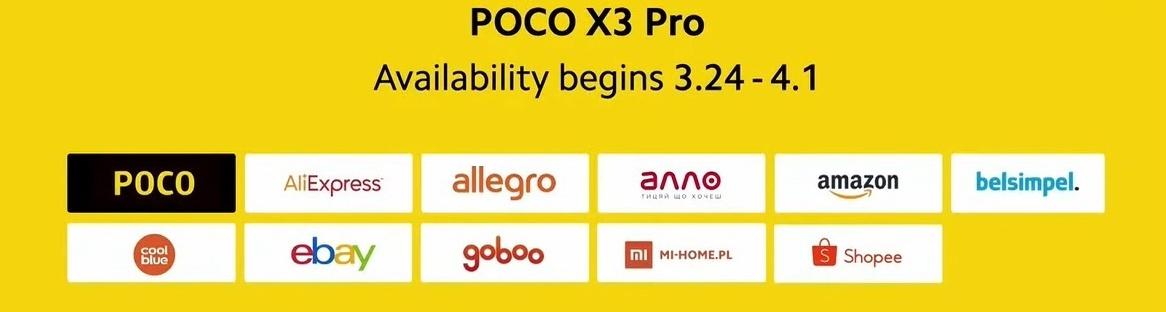 POCO X3 Pro - hivatalos forgalmazó