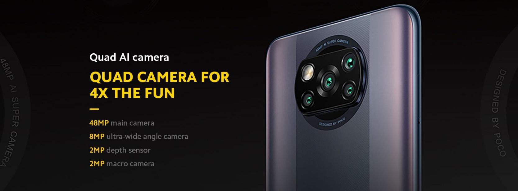 POCO X3 Pro - Kamera