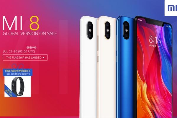 Xiaomi MI 8 promóció