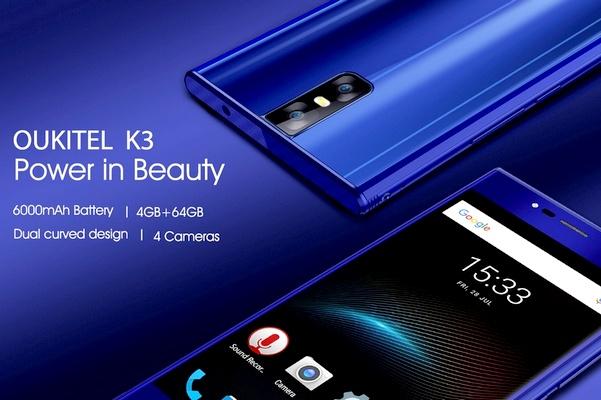 Oukitel K3 telefon