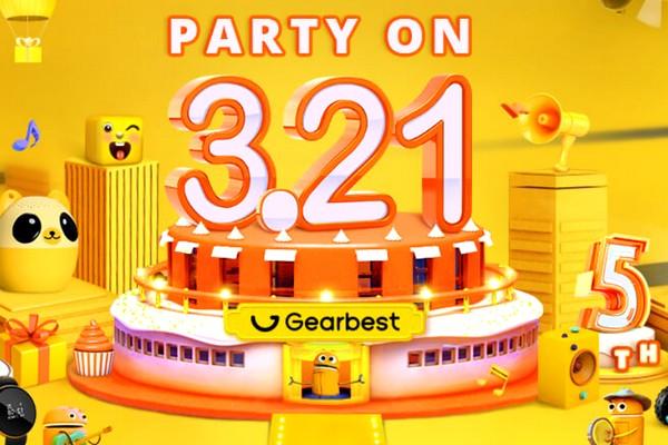 GearBest 5. születésnapi akciók