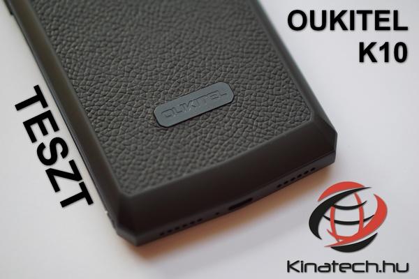 Oukitel K10 Teszt