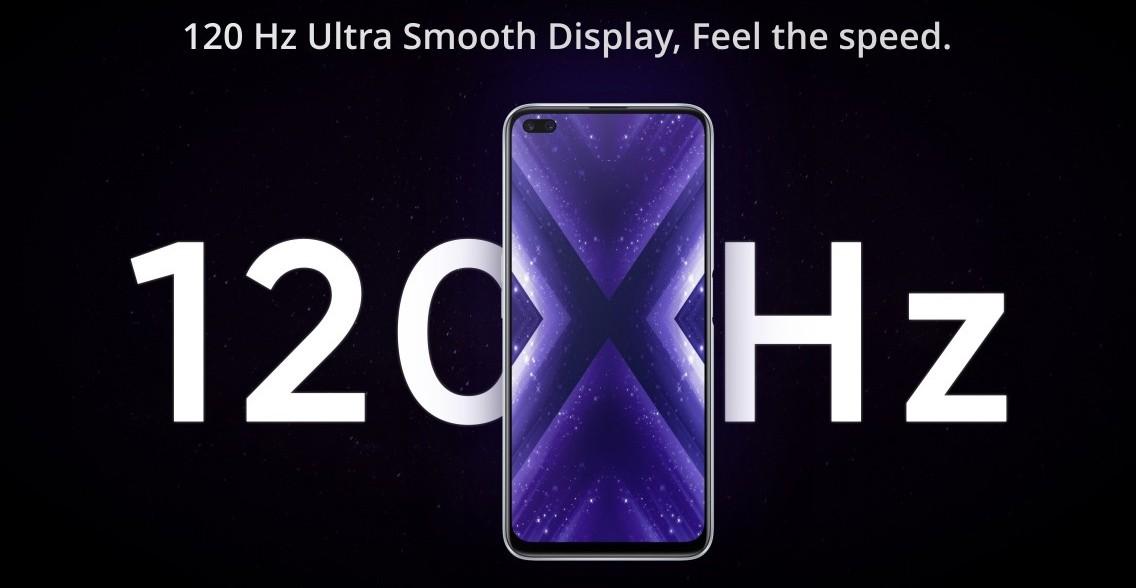 Realme X3 SuperZoom - 120Hz-es kijelző