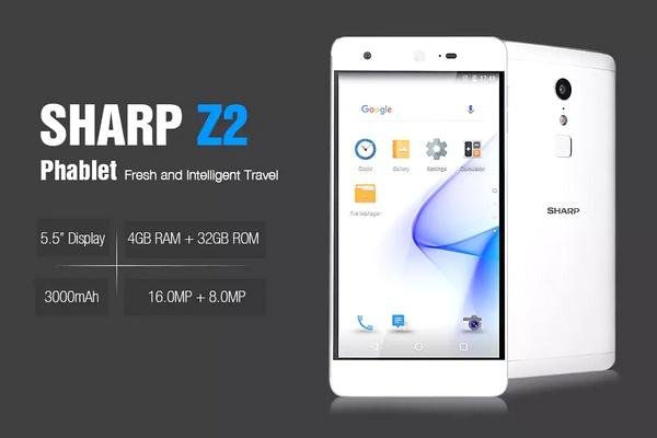 Sharp Z2 rendelés