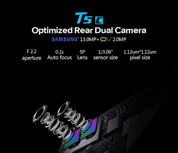 Leagoo T5c kamera