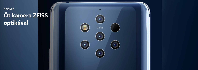 Nokia 9 Pureview - kamera