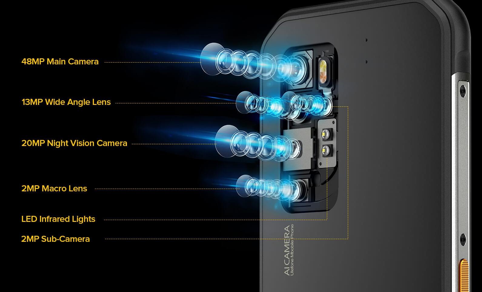 Ulefone Armor 11 - 48MP kamera