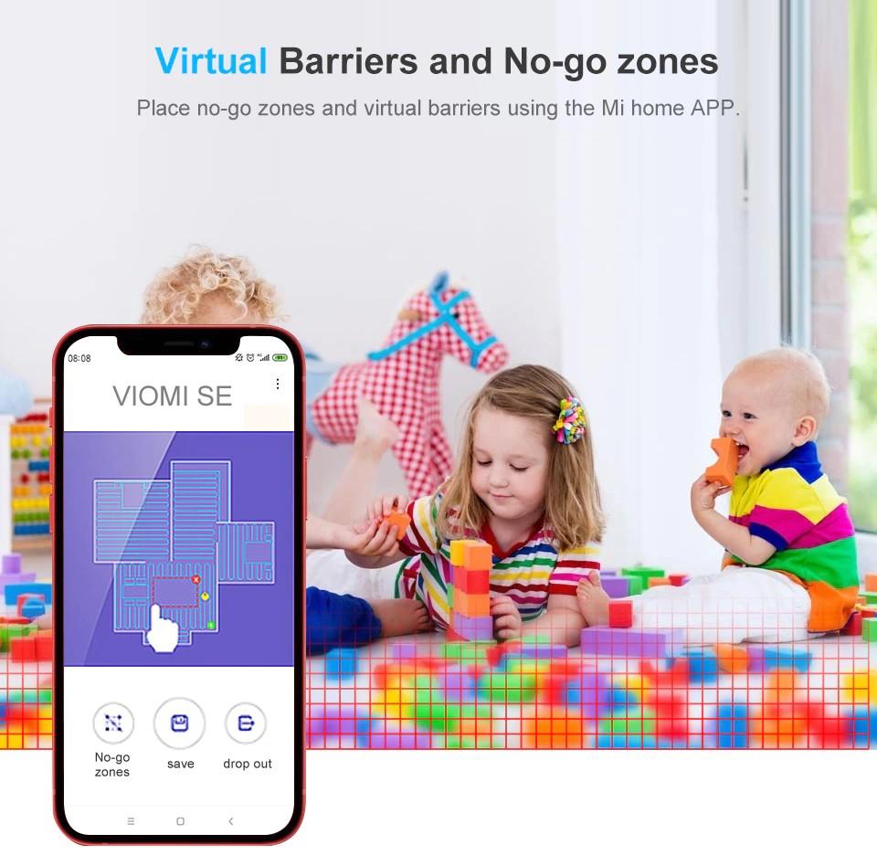 VIOMI SE - No Go Zones