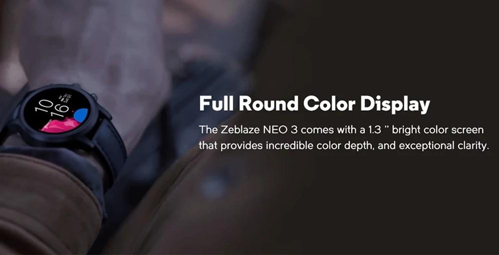 Zeblaze NEO 3 - Kijelző