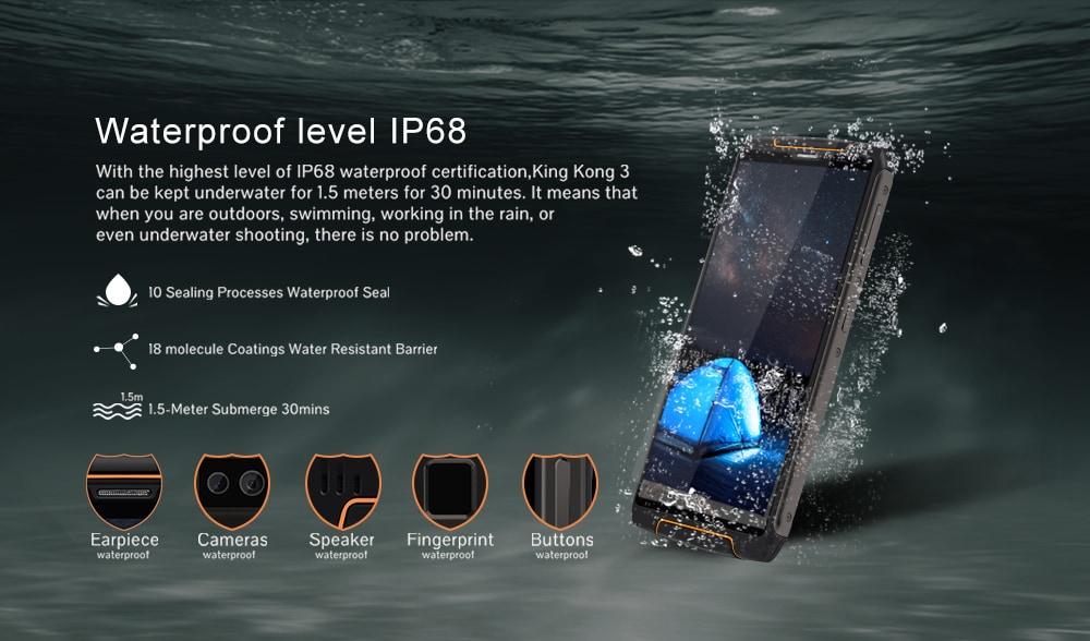 Cubot King Kong 3 IP68
