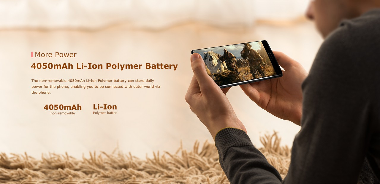 Homtom S9 Plus akkumulátor