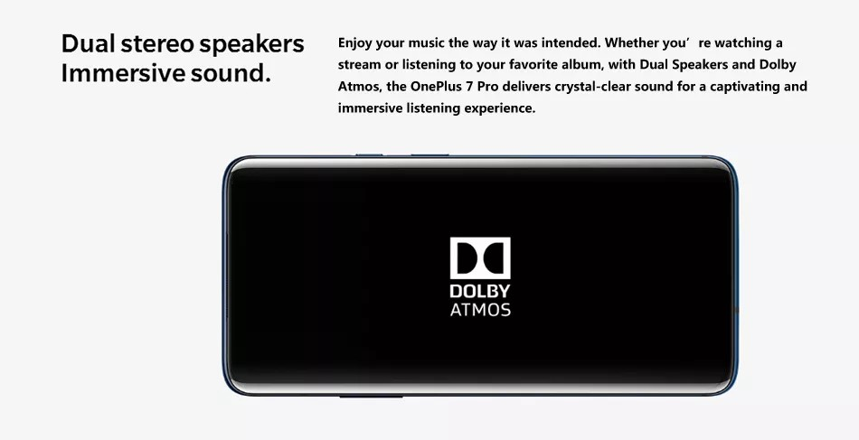 OnePlus 7 Pro - Dolby Atmos