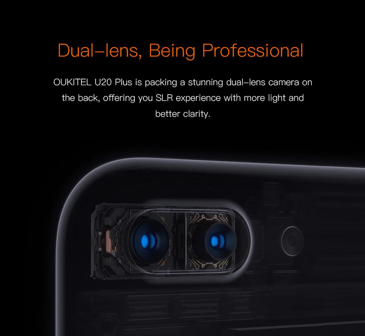 Oukitel U20 Plus kamera