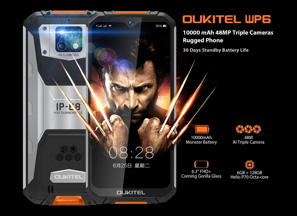 Oukitel WP6 - High Edition
