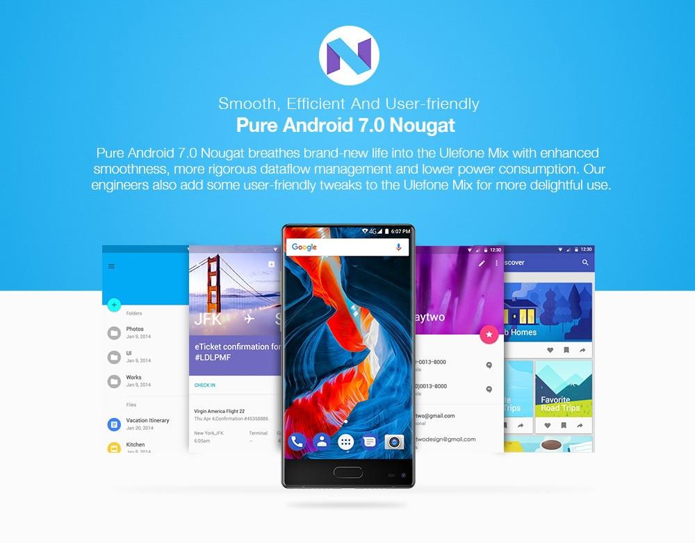 Ulefone Mix Android 7.0