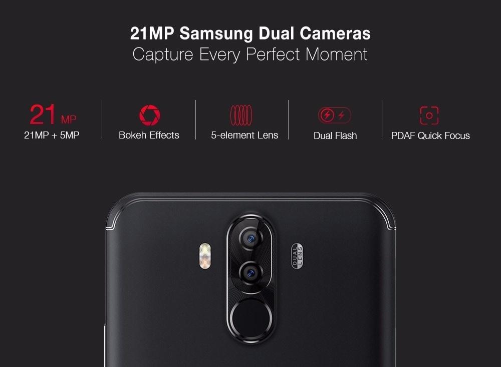UIefone Power 3 kamera