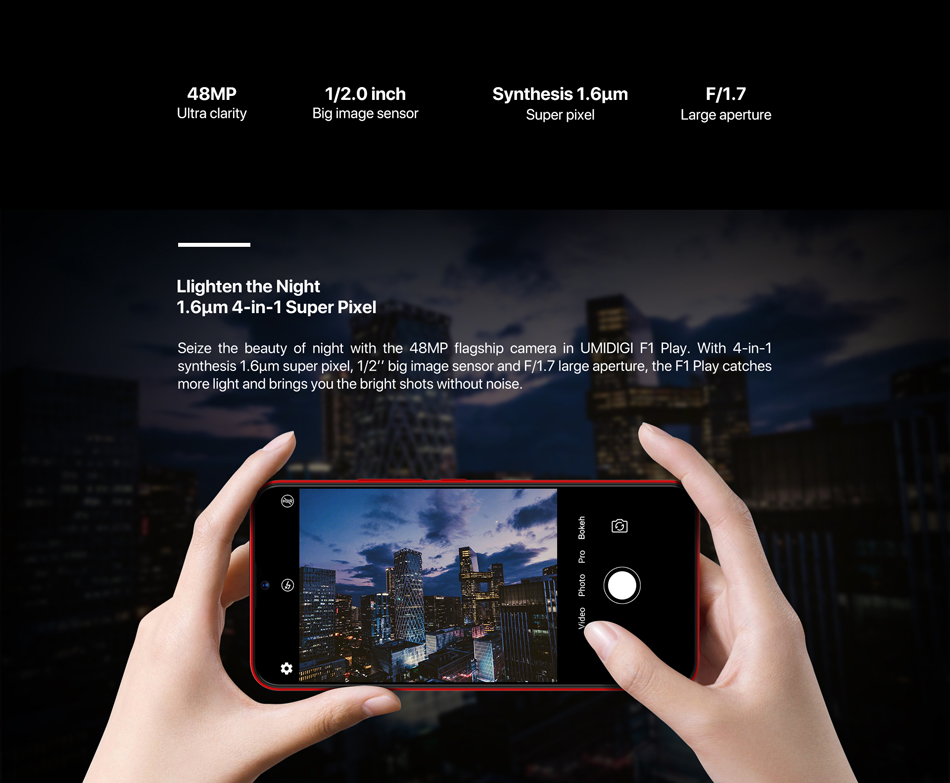UMiDigi F1 Play - Kamera