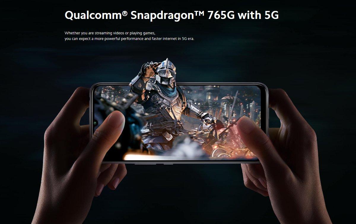 Xiaomi Mi 10 Lite - Snapdragon 765G