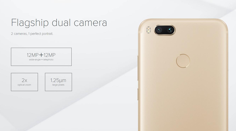 Xiaomi Mi A1 kamera