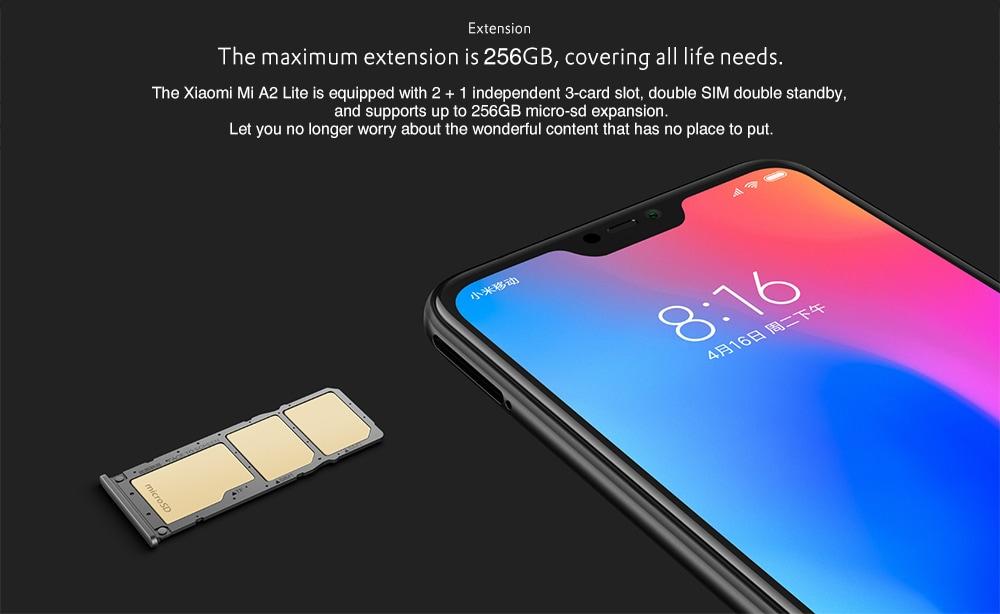 Xiaomi Mi A2 Lite SD kártya