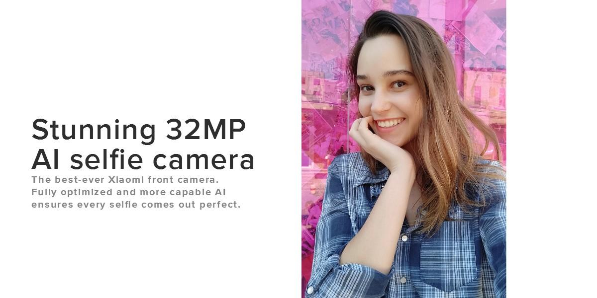 Xiaomi Mi A3 előlapi kamera